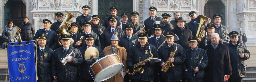 Corpo Musicale di Crescenzago, Piazza Duomo a Milano, 2011