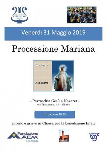 PRECESSIONE GESU NAZARET  31 MAGGIO 2019