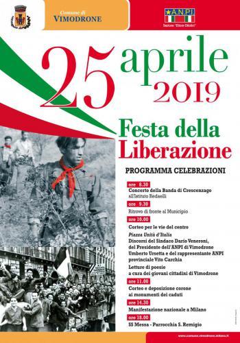 manifesto 25 aprile 2019
